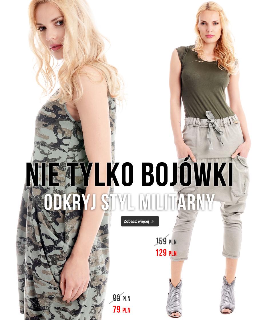 styl militarny