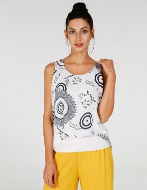 e964552407f7fc Bluzki damskie - modne wzory, oryginalne kroje, tuniki - Unisono