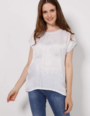 Bluzki damskie bawełniane, eleganckie koszulowe wizytowe
