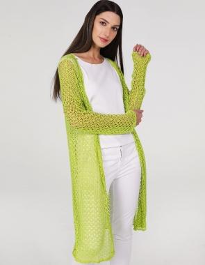 Długi sweter bez zapięcia Sklep internetowy Unisono