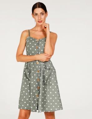 80185c18 Sukienki damskie koszulowe, casual, letnie na ramiączka, eleganckie ...