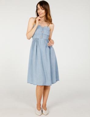 a3974c5c591ebe Sukienki damskie koszulowe, casual, letnie na ramiączka, eleganckie ...
